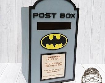 Batman Wedding Post Box