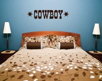 Cowboy Decal