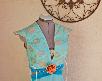 Margaery Tyrell Dress - COMMISSION ONLY - (rose belt sold separately)