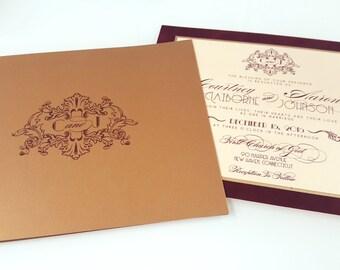 Royal Velvet Folio