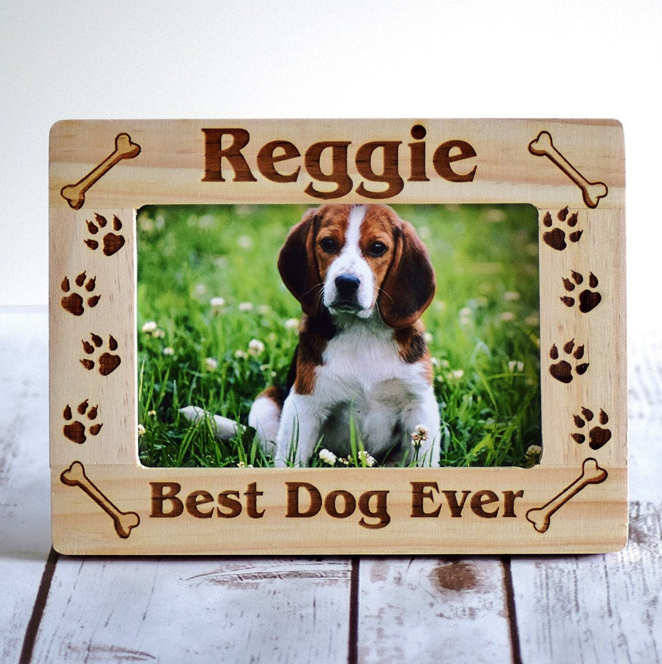Personalized gift pet frame personalized pet picture frame zoom jeuxipadfo Images