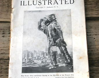 "Vintage guidebook ""New York illustrated""  1910"