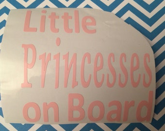 Name Decal, Personalized, Monogram, Car Decal, Laptop Decal, Vinyl Lettering, Princess Decal, On Board Decal