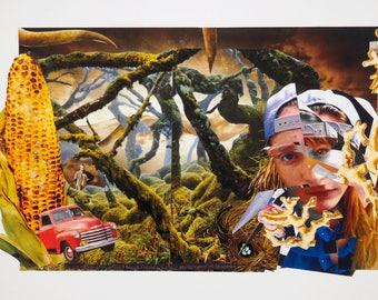 Dreamscape Collage Piece