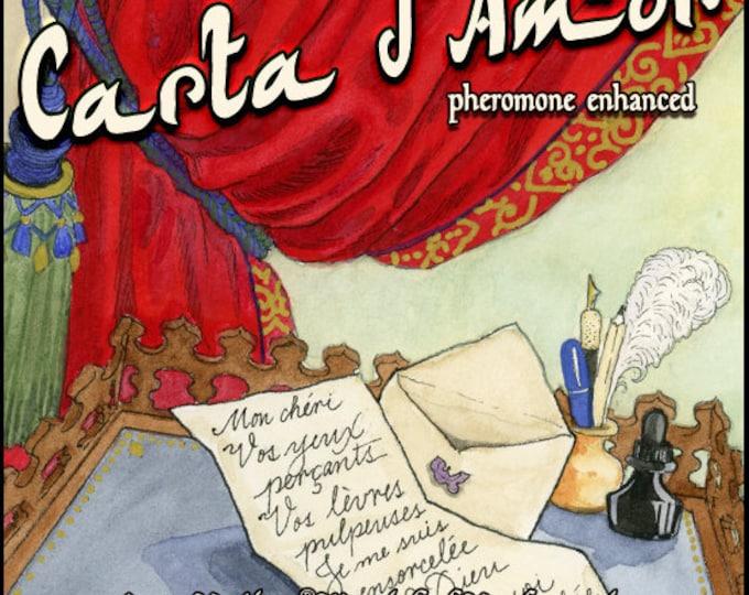 Carta d'Amor - Summer 2018 - Pheromone Enhanced Perfume for Women - Love Potion Magickal Perfumerie