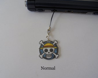 One Piece -DS Charm - Movile Strap - lanyard - One Piece Charm