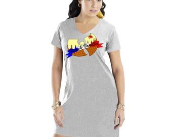 Wu Tang Ice Cream [French Vanilla] T-Shirt Dress