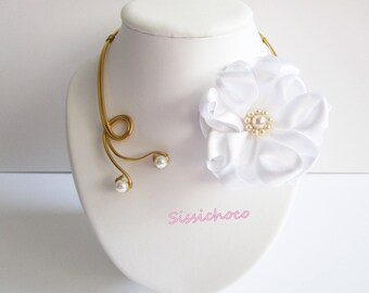 (the creator) Camellia Flower necklace