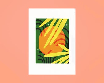 Orange A3 Limited Edition Digital Print