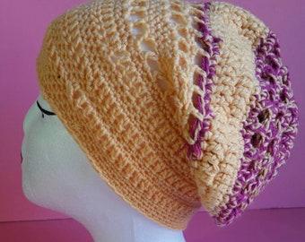 Women's babysoft slouchy crochet hat