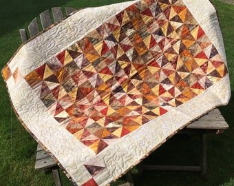 Quilted Patchwork Wall Hanging - Individual and unique