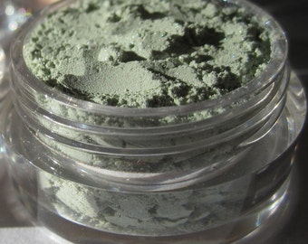 Bright Mint Frosty Green Mineral Eyeshadow | High Shimmer | Loose Pigments | Vegan Mineral Makeup Eye Shadow - Springtime