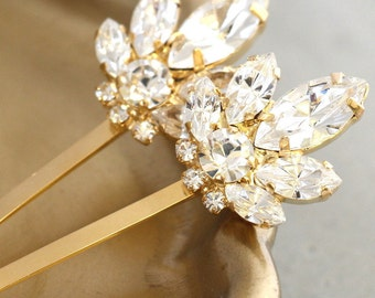 Bridal Hair Crystal Pin,Bridal Swarovski Bobby Pin,Bridal Crystal Bobby Pin,Wedding Hair Jewelry,Crystal Bridal Hair Jewelry,Bridal Hair Pin