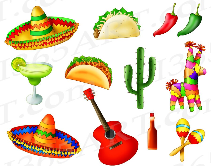 50 off mexican fiesta clipart mexican fiesta clip art cinco de rh etsystudio com fiesta clipart images fiesta clip art images free