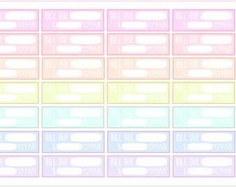 Spring Multicolor- Bill Due