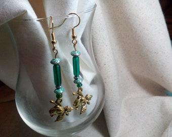 Mansfield schools hornets earrings 42