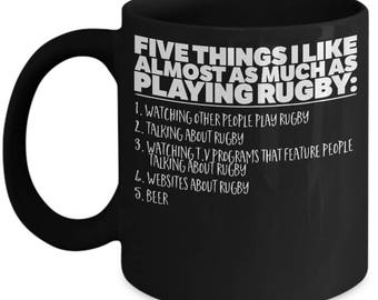 5 things about Rugby Mug