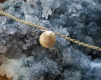 14K Gold Anklet Rose Gold Anklet Ankle Bracelet 14K Anklet Seashell Beach Jewelry Beach Anklets Gold Ankle Bracelets Womens Gift for Women