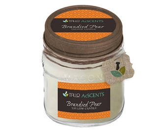 Tallow Candle –Brandied Pear