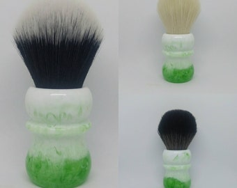Lime Freeze - 24mm or 26mm Tuxedo, 24mm Cashmere, 24mm BOSS, or 24/26mm handle only shaving brush (27mm socket)