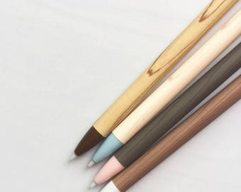 Wooden Look Mechanical Pencils - Simple - Wood Design - Minimalistic - Slim Pencil