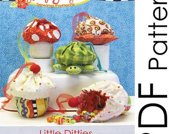 PDF Little Ditties Sewing Pattern