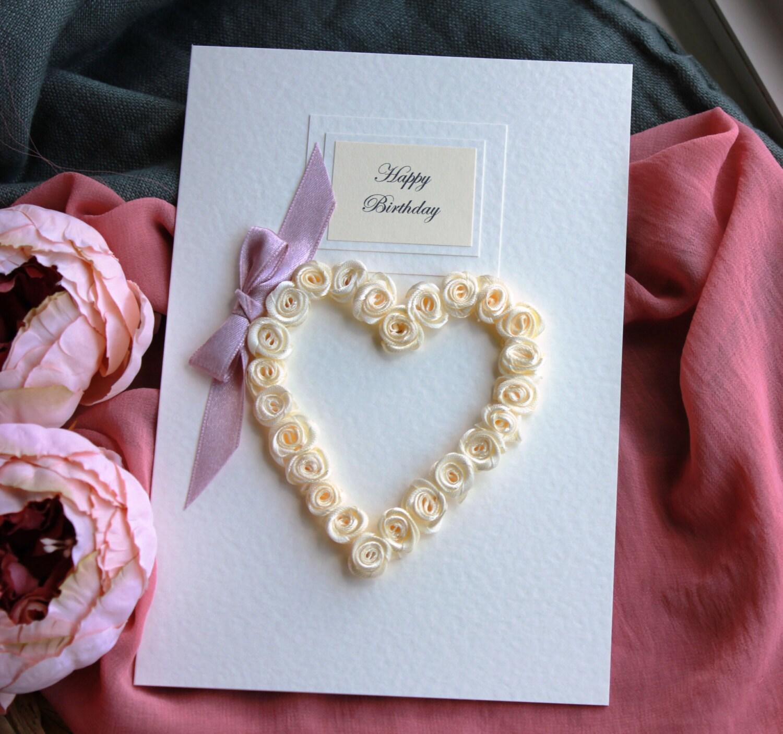 Birthday card girlfriend handmade personalised large zoom bookmarktalkfo Images