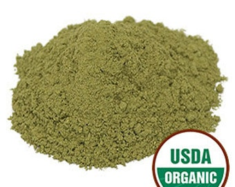 Organic Passion Flower Leaf Powder - 8 ounces