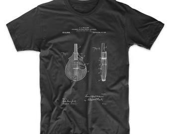 Mandolin Pick Guard Patent T Shirt, Guitarist, Music Shirt, Guitar Shirt, Musician Gift, PP0638
