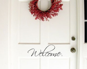 Vinyl Wall Decal - Welcome HM13-2