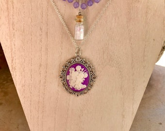 Fairy Princess Cameo Necklace