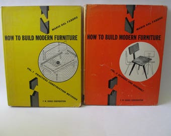 How to Build Furniture by Mario Dal Fabbro Volumes 1 and 2
