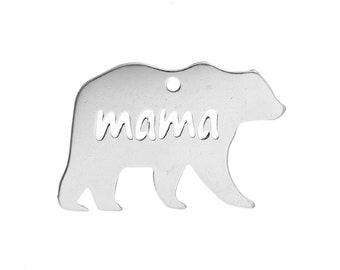 Mama Bear Charm - Clip-On - Ready to Wear