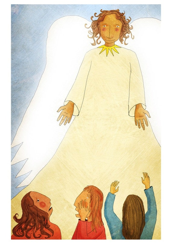 The Jesus Storybook Bible - Signed Print (Page 312 - 313)