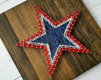 Patriotic String Art