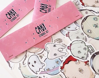 Caby Stickers Set