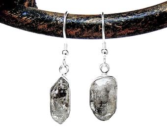 Herkimer Diamond Earrings in Sterling Silver - Herkimer Diamond Jewelry