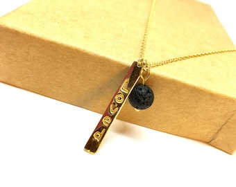 Loved aromatherapy necklace