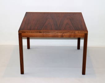 1960s Black walnut coffee table