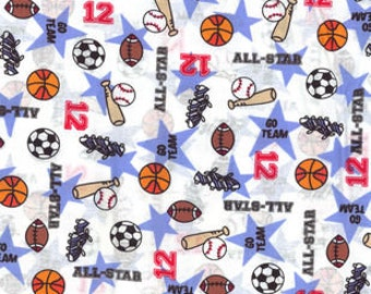 All Star Sports Cotton fabric