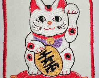 Iron-On Patch - LUCKY CAT
