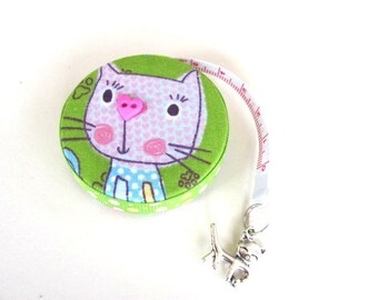 Measuring Tape Sweet Cats Retractable Tape Measure