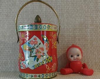 Vintage Murray Allen Imports Confection Tin
