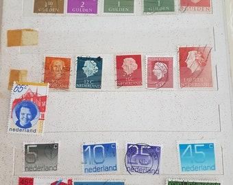 nederland stamps - vintage Stamp Collection - European Stamp