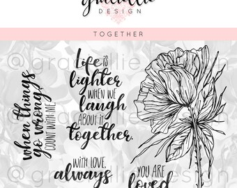 Together Digital Stamp Set