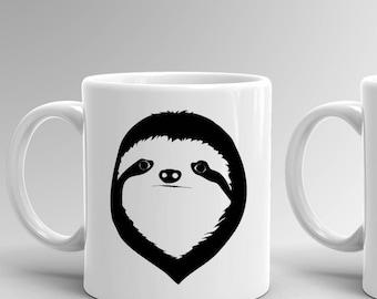 Sloth Mug, Sloth, Sloth Coffee Mug, Sloth Gift, Coffee Mug, Funny Mug, Mug, Funny Coffee Mug, Coffee, Sloth Gifts, Cute Sloth Mug, Sloths