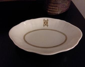 Charles Ahrenfeldt Limoges France Small Trinket / Soap Dish
