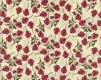 Liberty Tana Lawn fabric ROS -  carré de 25 cms x 25 cms idéal DIY