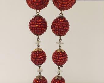 Original 1990s drop earrings