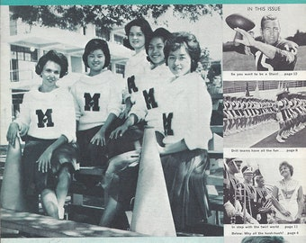The Pepperette ~ Magazine for Cheerleaders, Marching Bands, Majorettes Drill Teams Vol 1 No 1